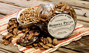 Berdoll Pecan Candy & Gift Co.: Pecan Candies, Baked Goods, and Gifts at Berdoll Pecan Candy & Gift Co. (50% Off). Two Options Available.
