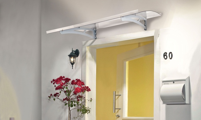 Groupon Goods Global GmbH Palram Door Canopy from £69.98 With Free Delivery ... : palram door canopy - memphite.com