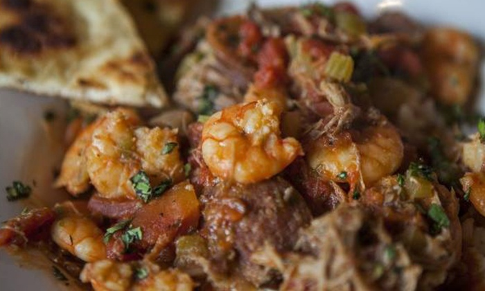 Red Hook Grill - Red Hook Grill: $12 for $20 Worth of Caribbean and American Food for Two or More at Red Hook Grill
