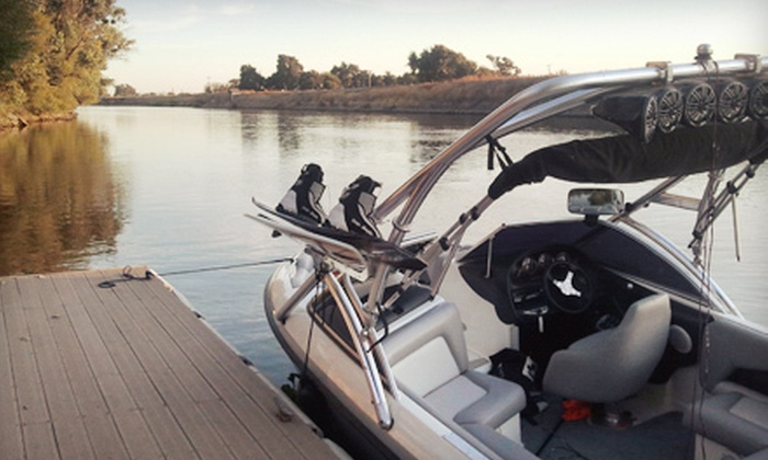 7Star Rental - Lathrop: Eight-Hour Jet-Ski or Motorboat Rental from 7Star Rental (Up to Half Off). Four Options Available.