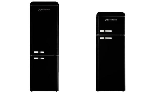 Kühlschrank In Schwarz : Schaub lorenz kühlschrank retro schwarz schaub lorenz retro