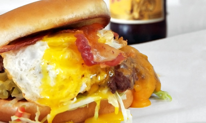Orderup - Uptown Broadway: $40 for Two $25 Gift Cards for Burgers and Drinks at Orderup ($50 Value)