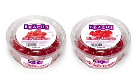 Brach's Cinnamon or Cherry Jelly Hearts (4-Pack)