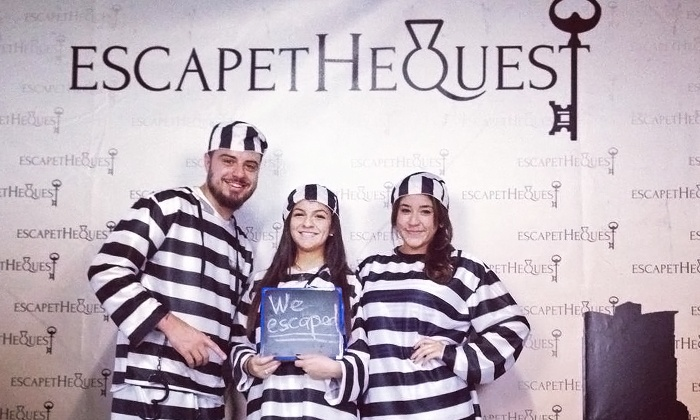 EscapetheQuest - Flamingo / Lummus: $40 for 60-Minute Interactive Prison-Escape Adventure for Two to Four People at EscapetheQuest ($80 Value)