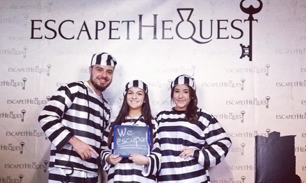 $49 for 60-Minute Interactive Prison-Escape Adventure for Two to Four People at EscapetheQuest ($100 Value)