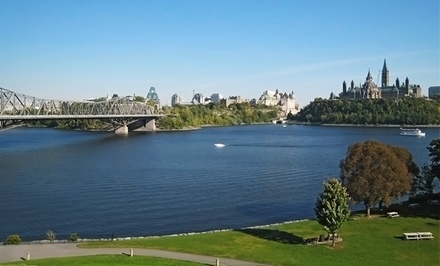 1- or 2-Night Stay for Two in a Traditional Queen Room with a $20 Dining Credit at Hotel Chimo Ottawa in Ontario
