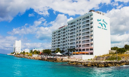 groupon daily deal - 3-, 4-, or 5-Night Stay for Two with Daily Breakfast for Two at Coral Princess Hotel & Resort in Cozumel, Mexico