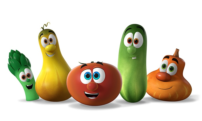 VeggieTales Live! Silly Song Sing-Along Tour - Aladdin Shrine Center: VeggieTales Live! Silly Song Sing-Along Tour at Aladdin Shrine Center on November 3 at 7 p.m. (Up to 48% Off)