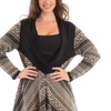 Women's Plus-Size Long Cowl-Neck Sweaters (Size 1X)