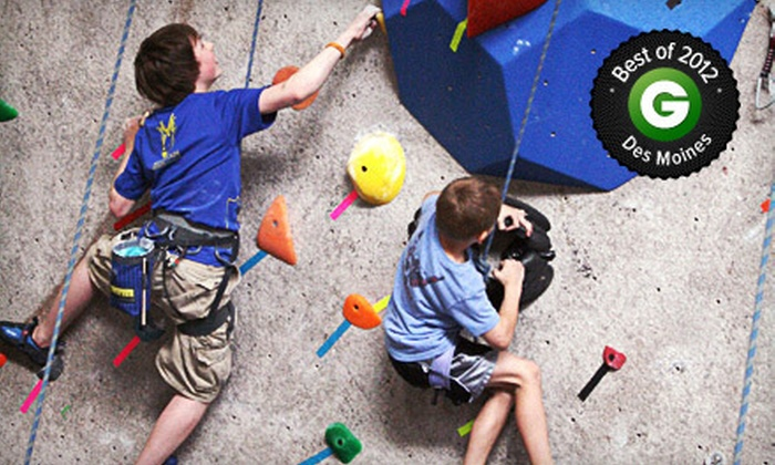 Climb Iowa - Grimes: $89 for a Three-Day Summer Camp at Climb Iowa (Up to $200 Value). Nine Sessions Available.