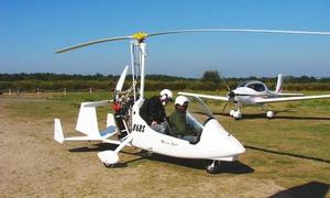 Horn ULM: Vol d'initiation au pilotage à 109,90 €chez Horn Ulm