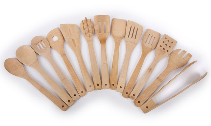 Core Bamboo 14-Piece Utensil Set: Core Bamboo 14-Piece Utensil Set. Free Shipping and Returns.