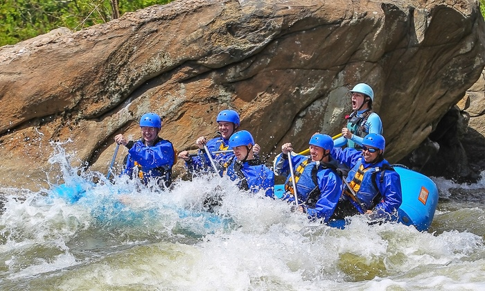 River City Adventures - Old Town Manchester: Whitewater Rating Trip for Two or Four at River City Adventures (Up to 54% Off). Four Options Available.