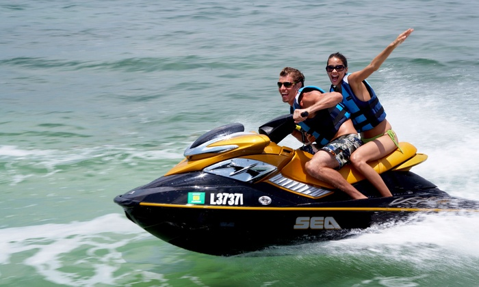 Premium Luxury Rentals - Chicago: 30- or 60-Minute Jet Ski Rental for One or Two from Premium Luxury Rentals (Up to 53% Off)