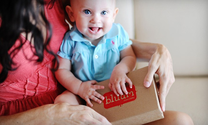 bluum: $18 for Three Monthly Boxes of Bodycare Products for Mom and Baby from bluum (Up to $36 Value)