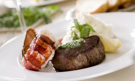 Steak and Lobster Meal for Two or Four at Sofia's Italian Restaurant
