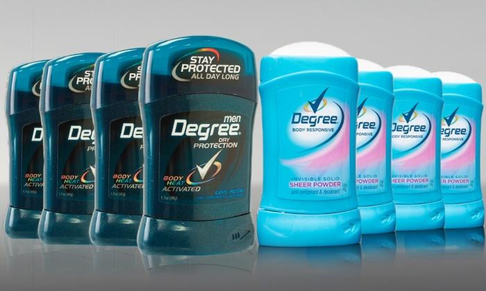 4-Pack of Degree Deodorant for Men or Women: 4-Pack of Degree Deodorant for Men or Women