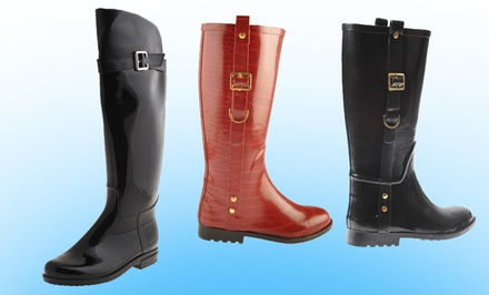 Henry Ferrara Women's Rain Boots. Multiple Styles from $41.99 to $47.99.