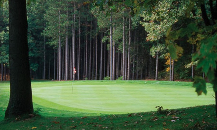 Candlestone Golf and Resort - Otisco: $154 for a Two-Night Stay for Two with Food and Unlimited Golf at Candlestone Golf & Resort (Up to $257 Value)