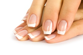 Afterglow Day Spa: Up to 53% Off Mani-Pedis with Foot Detox  at Afterglow Day Spa