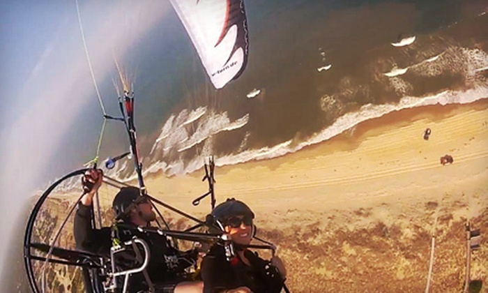 Paramotor Tours - Washington DC: Up to 30-Minute Powered Paragliding Adventure for One or Two from Paramotor Tours in Beverly (Up to 67% Off)