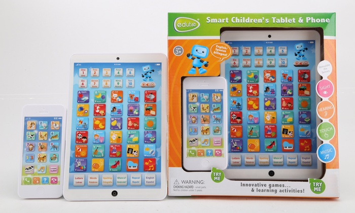 Kids Learning Tablet >> Edutab Kids Learning Tablet And Phone Groupon