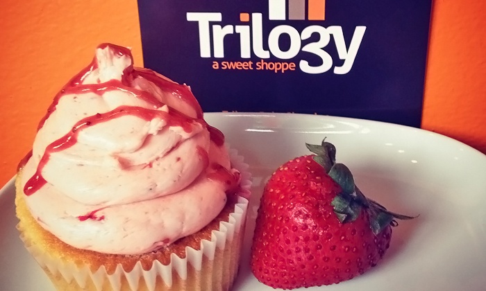Trilogy Bake Shop - Downtown New Rochelle: $20 Worth of Cupcakes, Cookies, or Baked Goods or $120 Toward Custom Cakes from Trilogy Bake Shop