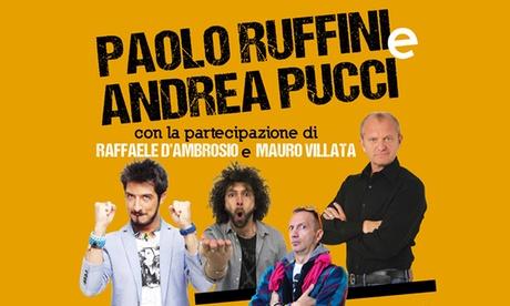 È cambiato tutto - Ruffini & Pucci in scena al Pala Alpitour di Torino