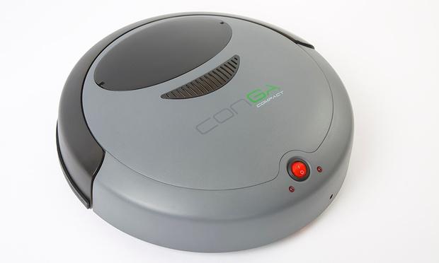 robot aspirateur conga compact 49 90 61 de r duction montpellier bon plan choc. Black Bedroom Furniture Sets. Home Design Ideas