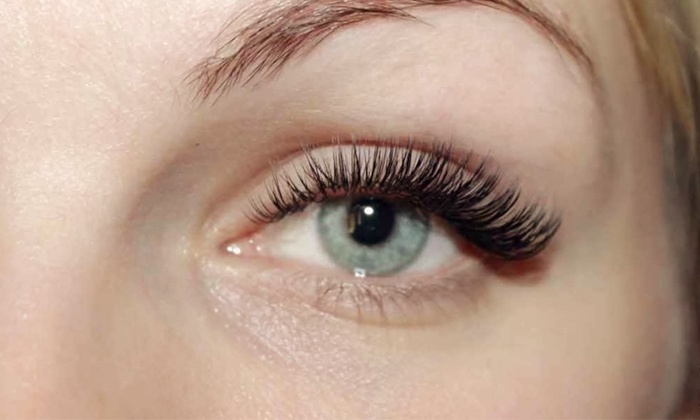 Busy Brows - Lawndale: Full Set of Silk or 3D Eyelash Extensions at Busy Brows (58% Off)