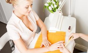 derma point: 1, 2 of 3 keer spa manicure + gellish lakken bij Derma Point
