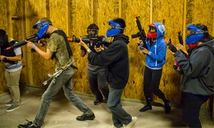 VIP Airsoft: Indoor Airsoft with Equipment and 1,000 BBs for 1, 2, 4, 20, or 30 at VIP Airsoft (Up to 58% Off)