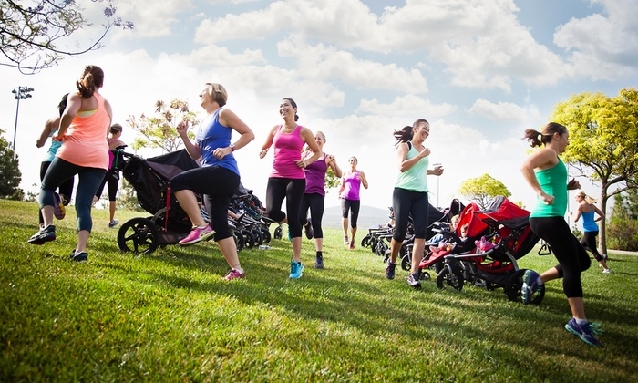 FIT4MOM San Diego - Multiple Locations: $29 for One Month of Unlimited Stroller Strides Fitness Classes at FIT4MOM San Diego ($65 Value)