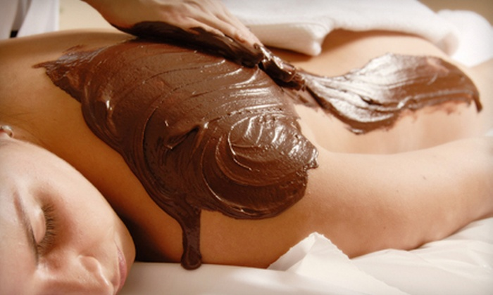Therapy by Caryn - Summerville: Full-Body Chocolate Treatment with Scrub, Wrap, and Massage or 60-Minute Massage at Therapy by Caryn (Up to 55% Off)