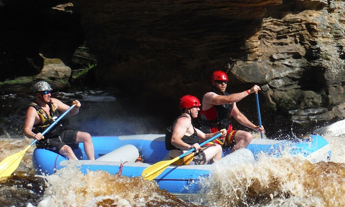 Hard Water Sports - East Midway: Whitewater Rafting Adventure for Two or Four at Hard Water Sports (50% Off)
