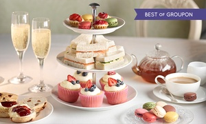 Hilton Swindon Non Accommodation: Afternoon Tea For Two With Sparkling Wine (£19.95) or Champagne (£25) at 4* Hilton Swindon (Up to 52% Off)