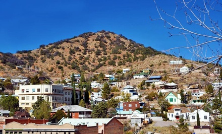 1- or 2-Night Stay for Two with Bottle of Wine at The Bisbee Inn/Hotel La More in Bisbee, AZ. Combine Up to 6 Nights.