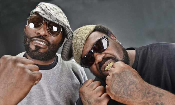 8 Ball & MJG - Portage Theater: 8Ball & MJG with Slim Thug, Crucial Conflict, and Boss Life on Saturday, February 20, at 8 p.m.
