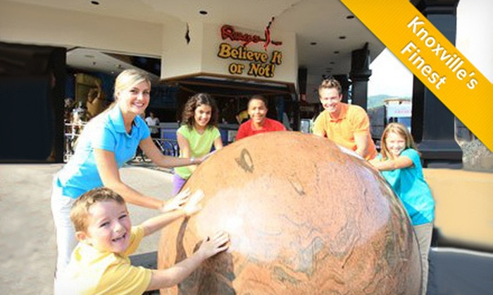 Ripley's Believe It or Not! - Gatlinburg: Ripley's Believe It or Not! Odditorium Visit for One Adult, One Child, or Two Adults and Two Children (Up to 54% Off)