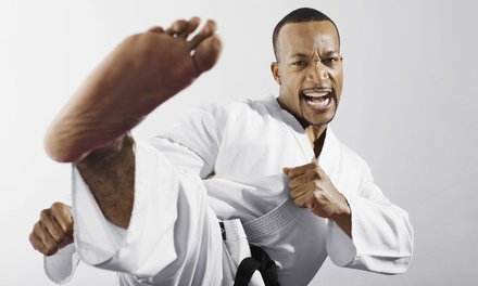 Up to 52% Off Karate Lessons at Tracy's karate