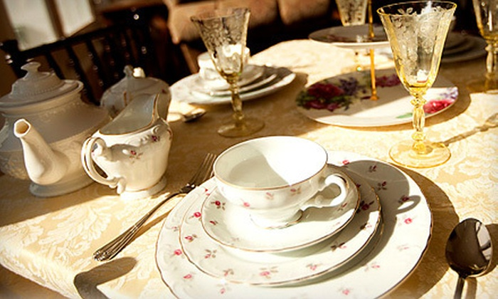 Historic Rosemont Manor - Berryville,	 VA: Three-Course Tea Service and a Manor Tour for 1, 2, or 10 at the Historic Rosemont Manor in Berryville (Up to 53% Off)