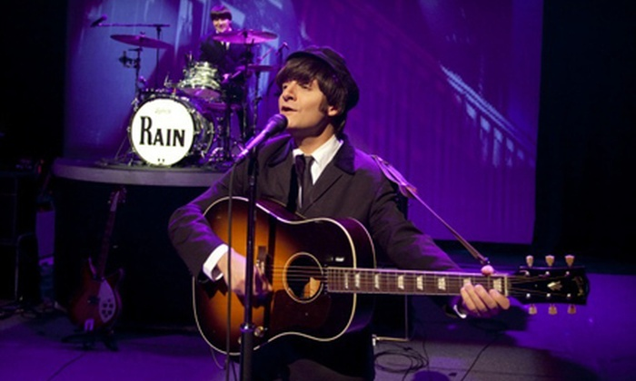 "Rain: A Tribute to the Beatles - House of Blues Houston: ""Rain: A Tribute to the Beatles"" at Bayou Music Center on Friday, April 12, or Saturday, April 13 (Up to Half Off)"