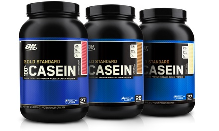 100% Casein Protein Powder Drink Mix