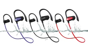 Laud Sport Water-Resistant Bluetooth Earbuds