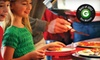 Incredible Pizza Company - Urbandale: Pizza Buffet and Games Package for Two or Four Monday–Friday at Incredible Pizza Company 86th St. (52% Off)