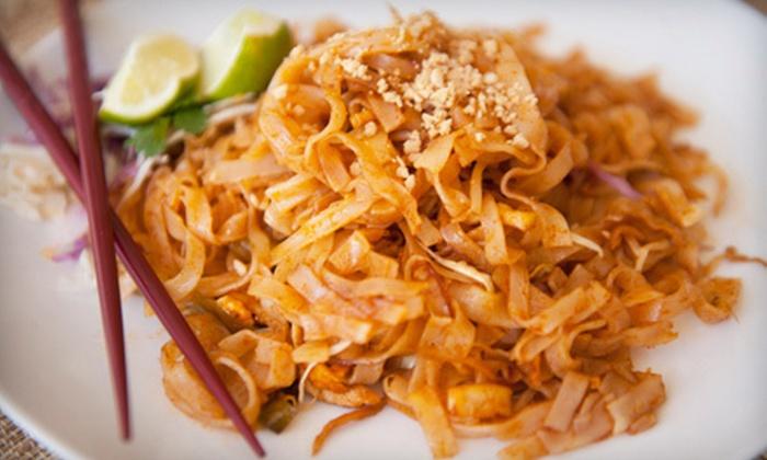 Siam Bay Authentic Thai - Old City: Thai Dinner Fare for Two or Four at Siam Bay Authentic Thai