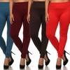 Women's Plus Size Fleece-Lined Leggings (6-Pack)