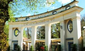 Spa Albergo Delle Terme: Fiuggi Terme - percorso Spa con Prosecco, massaggio da 50 minuti, cena e camera day use per 2 persone (sconto 75%)