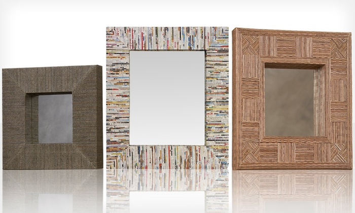 Linon Home Décor Handcrafted Mirrors: Linon Home Décor Handcrafted Mirrors (Up to 61% Off). 17 Options Available. Free Shipping and Free Returns.