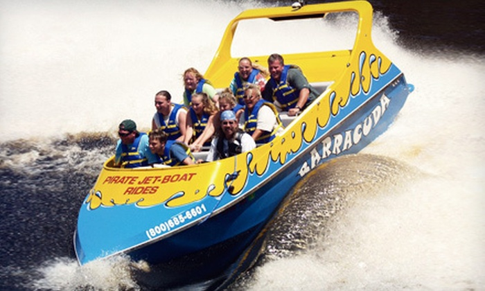 Ponce Inlet Water Sports - Ponce Inlet: 30-Minute 360 Jet Boat Rides from Ponce Inlet Water Sports (Up to 55% Off). Three Options Available.
